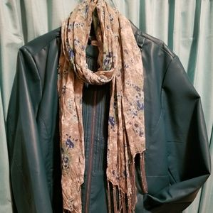 Susan Graver Faux Leather Jacket